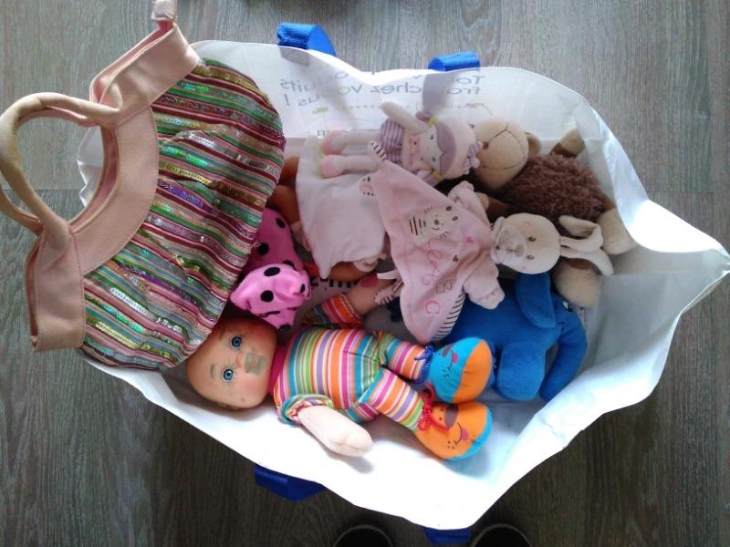 Recyclage, Récupe & Don d'objet : peluches et doudous