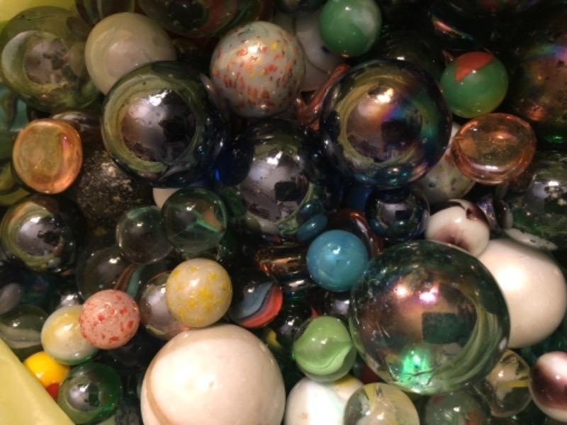Recyclage, Récupe & Don d'objet : billes de toutes tailles toutes couleurs