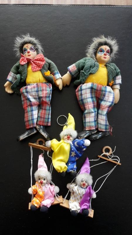 Recyclage, Récupe & Don d'objet : lot de clowns