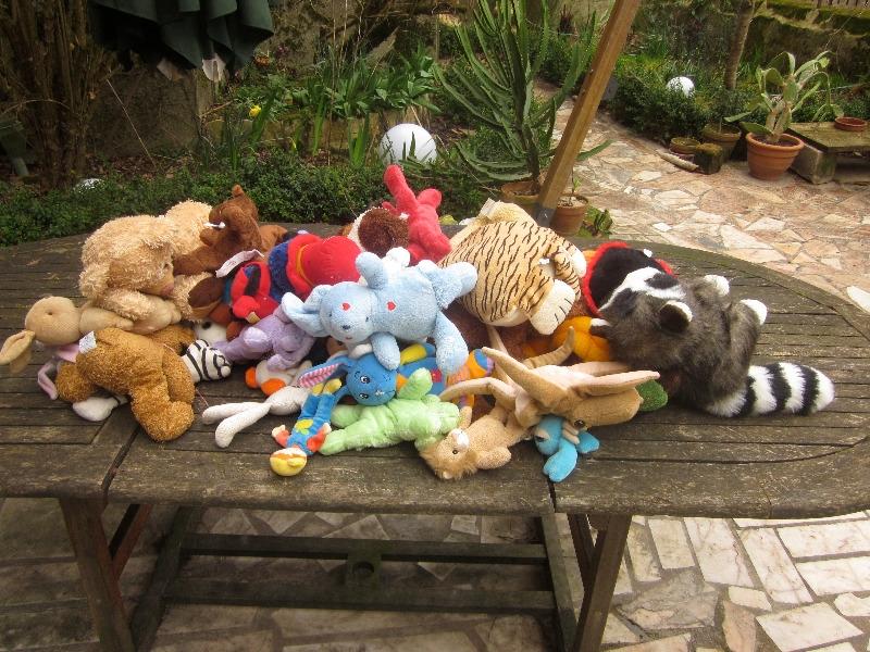 Recyclage, Récupe & Don d'objet : doudous