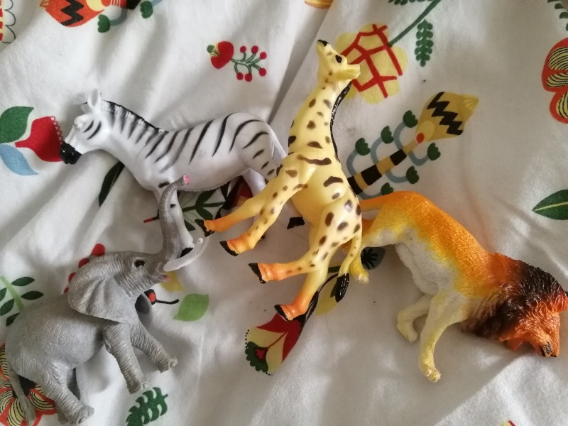 Recyclage, Récupe & Don d'objet : animaux en plastique