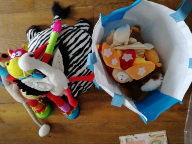 Recyclage, Récupe & Don d'objet : peluches et doudous (neufs)
