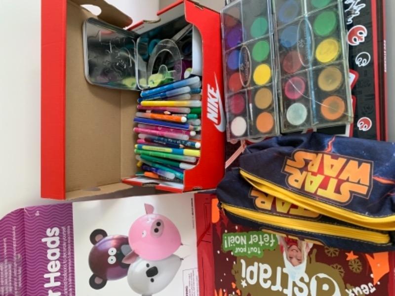Recyclage, Récupe & Don d'objet : matériel pour création enfant