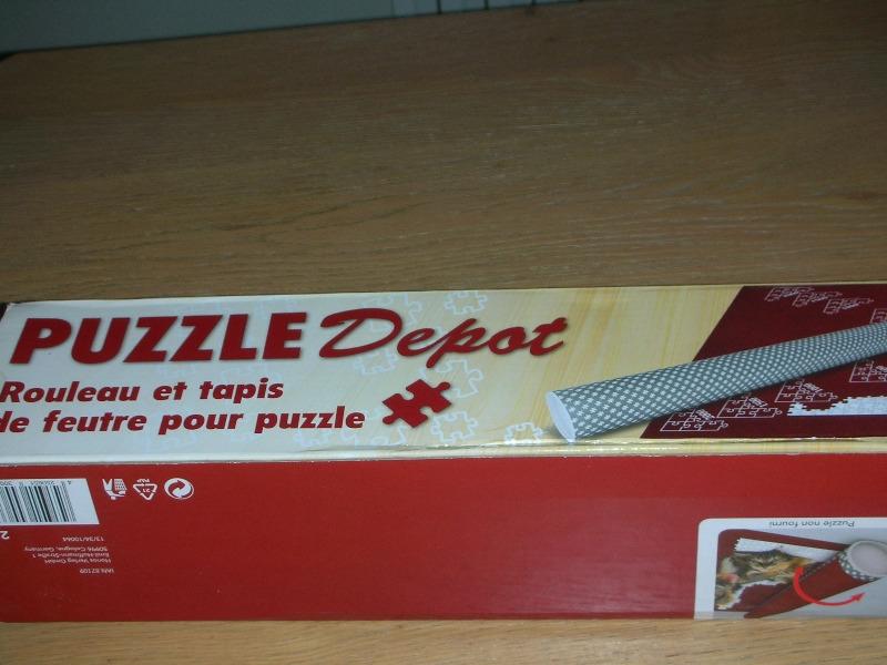 Recyclage, Récupe & Don d'objet : tapis feutre pour puzzle