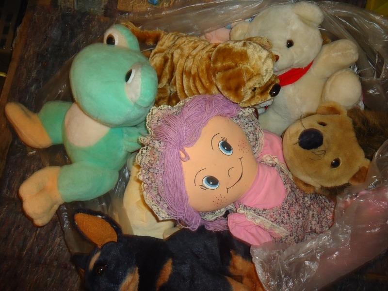 Recyclage, Récupe & Don d'objet : peluches