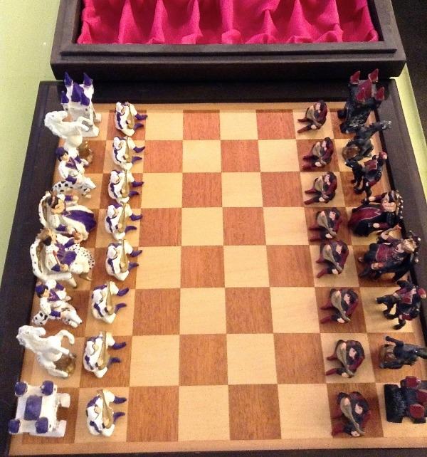 Recyclage, Récupe & Don d'objet : jeu d'échecs