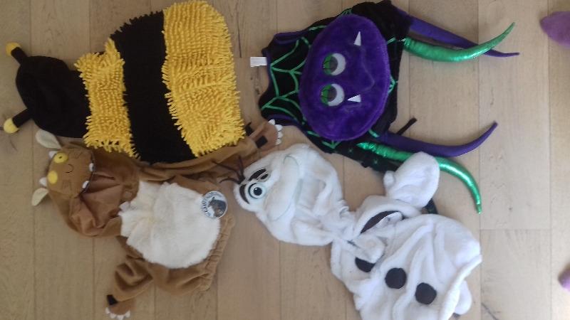 Recyclage, Récupe & Don d'objet : lot de déguisements enfants (1-3 ans)