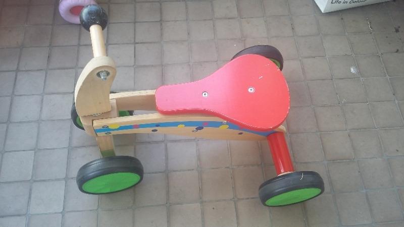 Recyclage, Récupe & Don d'objet : tricycle en bois