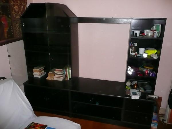 Recyclage, Récupe & Don d'objet : meubles salon bibliothèque cdthèque