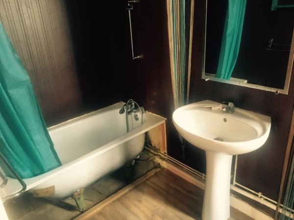 Recyclage, Récupe & Don d'objet : meuble salle de bain baignoire lavabo miroir