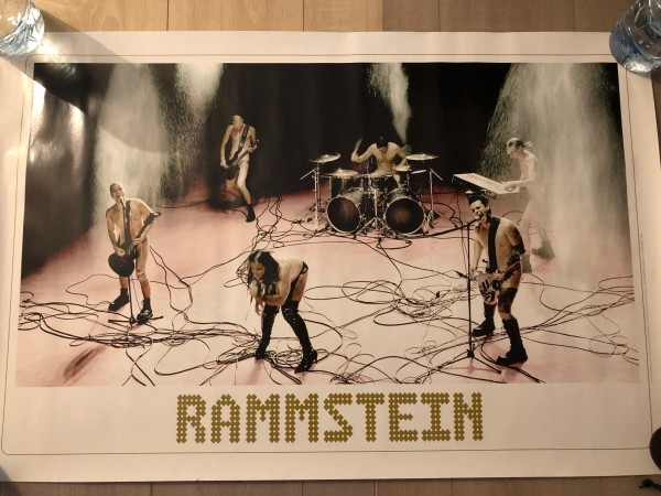 Recyclage, Récupe & Don d'objet : poster rammstein