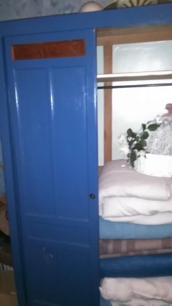 Recyclage, Récupe & Don d'objet : armoire bleue