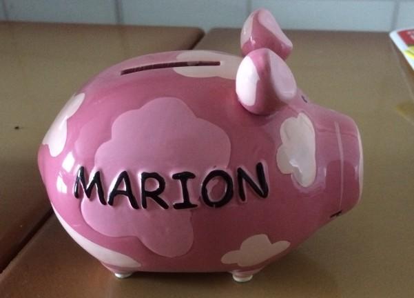 Recyclage, Récupe & Don d'objet : tirelire cochon