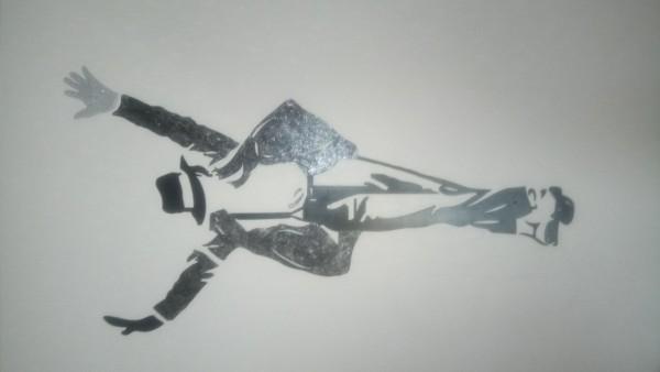 Recyclage, Récupe & Don d'objet : déco murale michael jackson