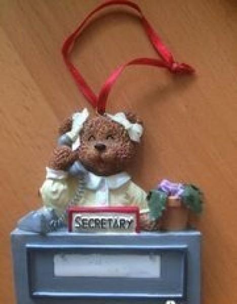 Recyclage, Récupe & Don d'objet : petite déco pour secrétaire