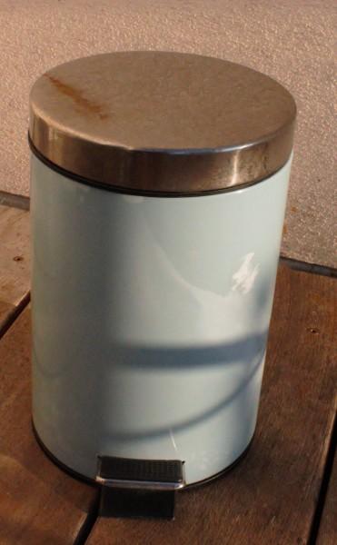 Recyclage, Récupe & Don d'objet : petite poubelle (de salle de bains ou autre)