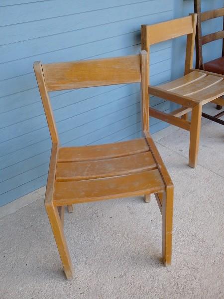 Recyclage, Récupe & Don d'objet : cintres, duvets, chaises