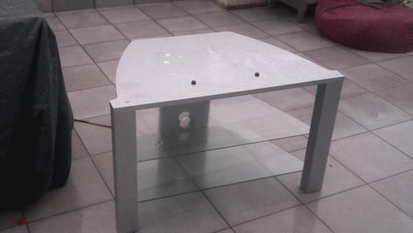 Recyclage, Récupe & Don d'objet : meuble tv gris