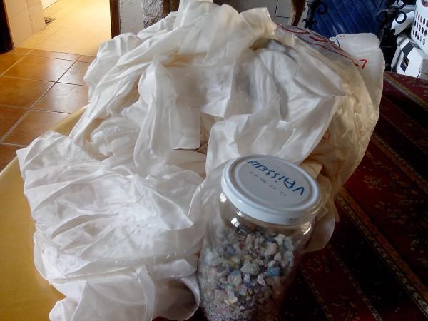 Recyclage, Récupe & Don d'objet : tissu divers