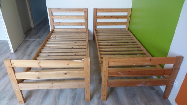 Recyclage, Récupe & Don d'objet : deux lits enfants