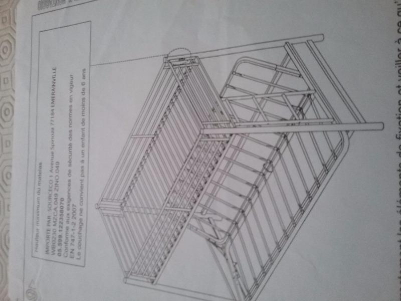 Recyclage, Récupe & Don d'objet : lit mezzanine a reparer