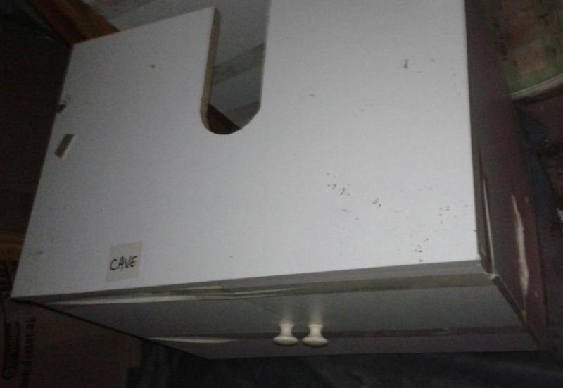 Recyclage, Récupe & Don d'objet : meuble à mettre sous un lavabo