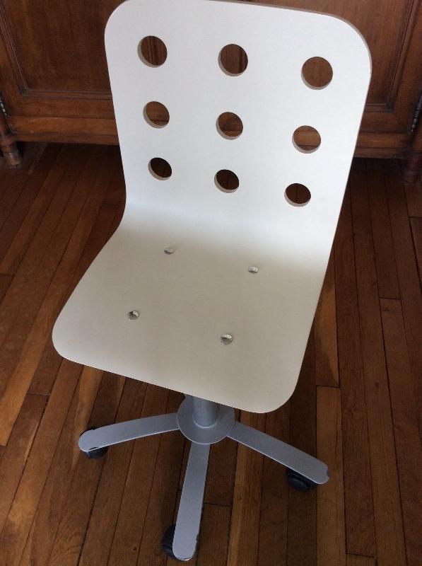 Recyclage, Récupe & Don d'objet : chaise de bureau enfant