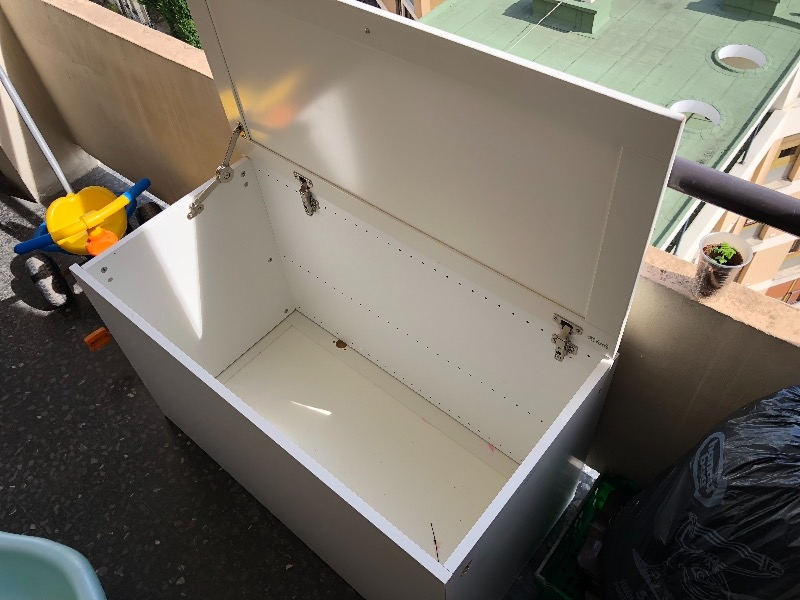 Recyclage, Récupe & Don d'objet : coffre fait main