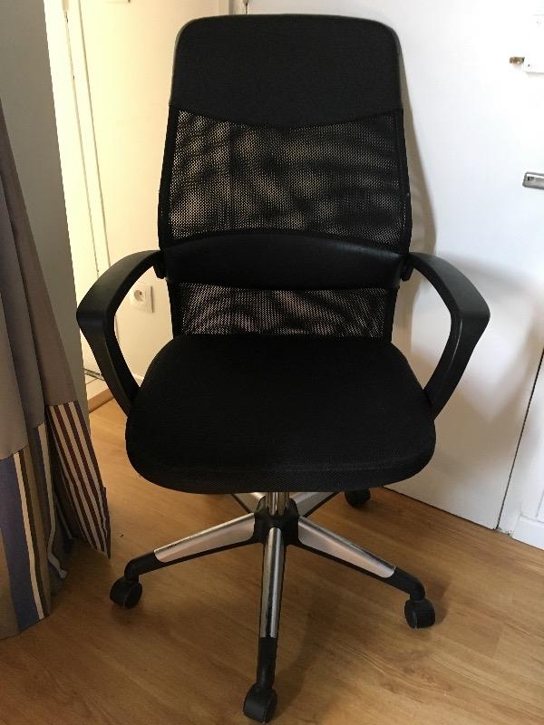 Recyclage, Récupe & Don d'objet : chaise / fauteuil de bureau