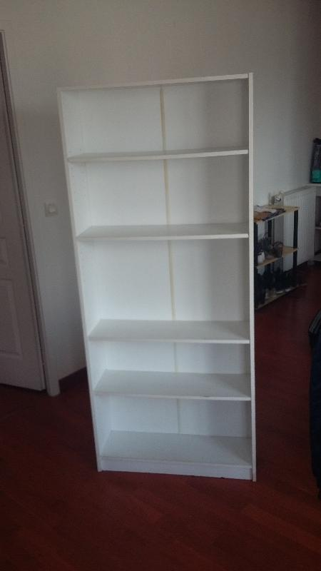 Recyclage, Récupe & Don d'objet : bibliothèque haute ikea billy