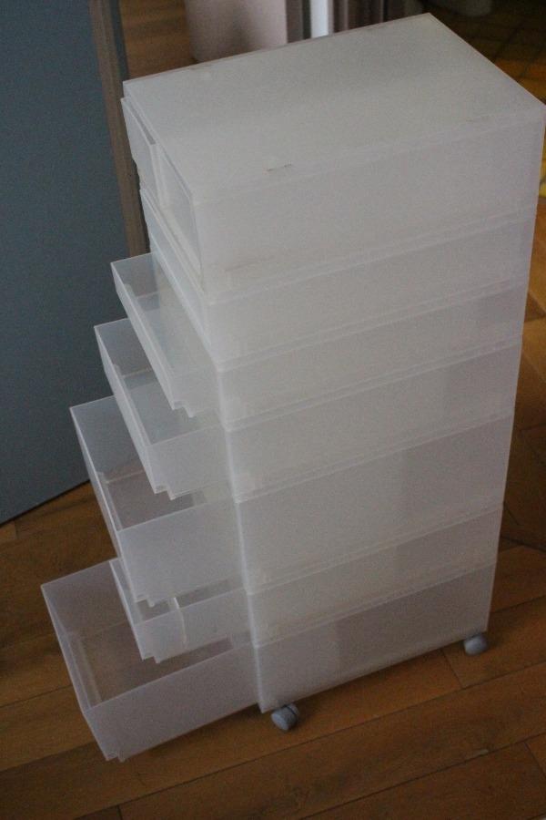 Recyclage, Récupe & Don d'objet : meuble de rangement modulable