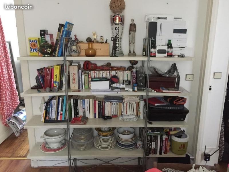 Recyclage, Récupe & Don d'objet : grande étagère / bibliothèque