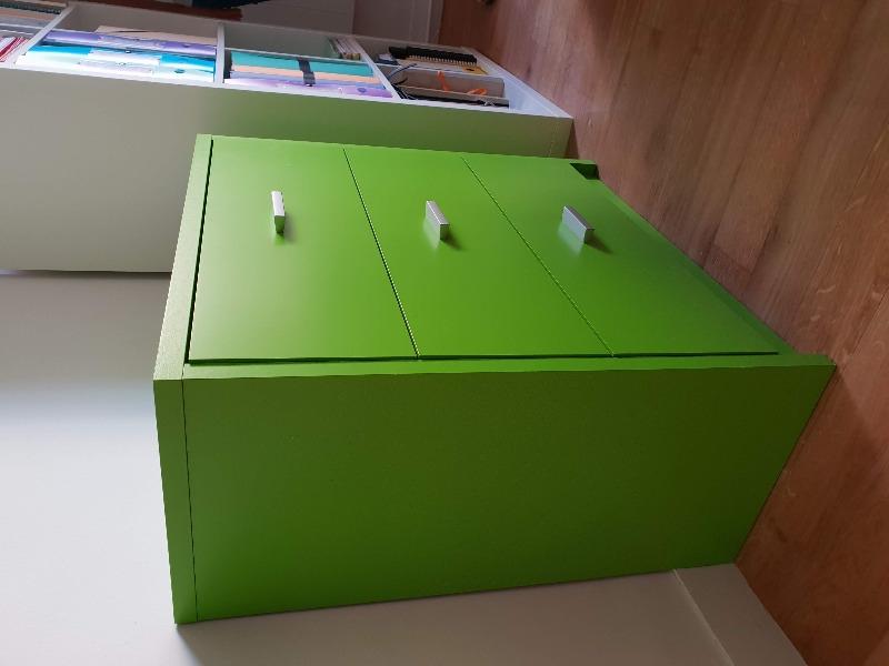 Recyclage, Récupe & Don d'objet : commode trois tiroirs