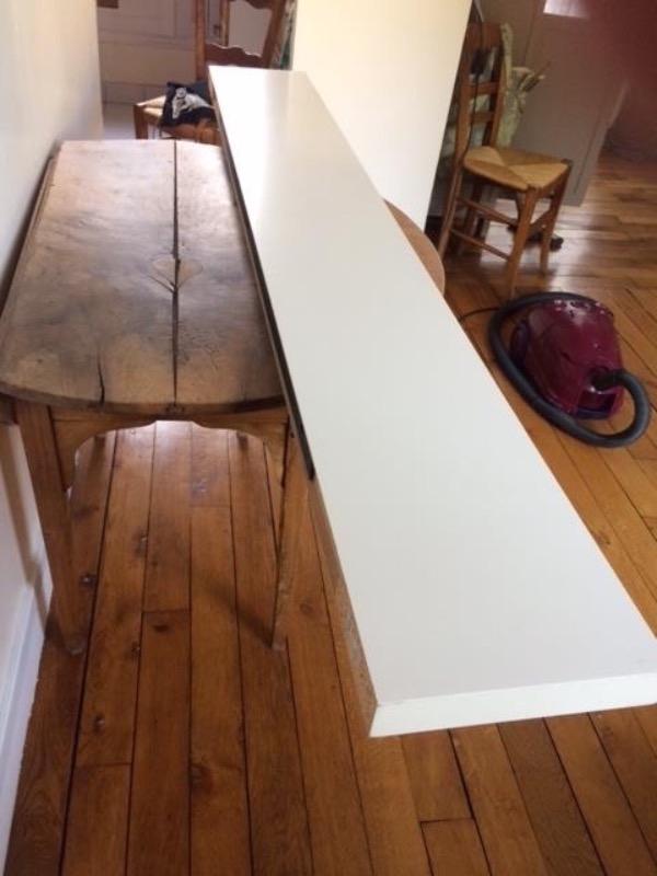 Recyclage, Récupe & Don d'objet : etagere blanche