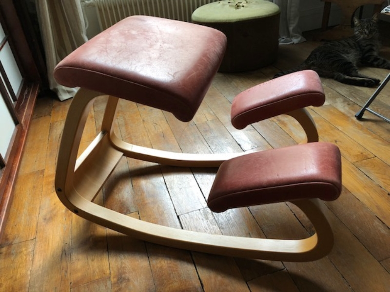 Recyclage, Récupe & Don d'objet : chaise à bascule de bureau stokke