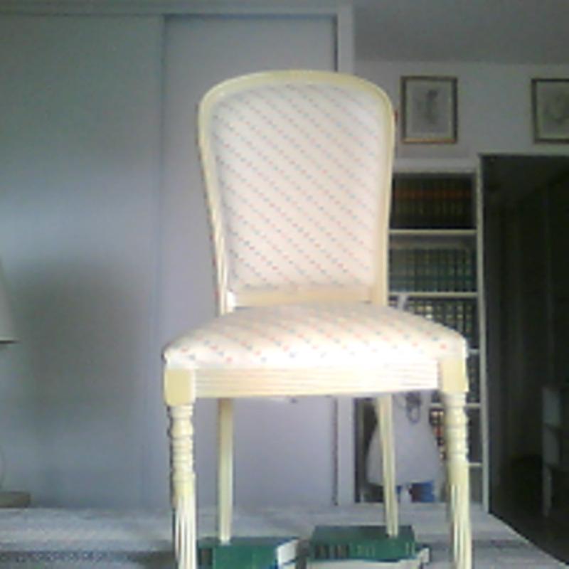 Recyclage, Récupe & Don d'objet : chaises de salle à manger