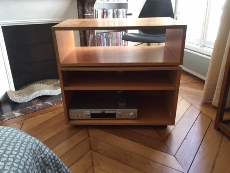 Recyclage objet récupe objet donne meuble habitat porte tv à