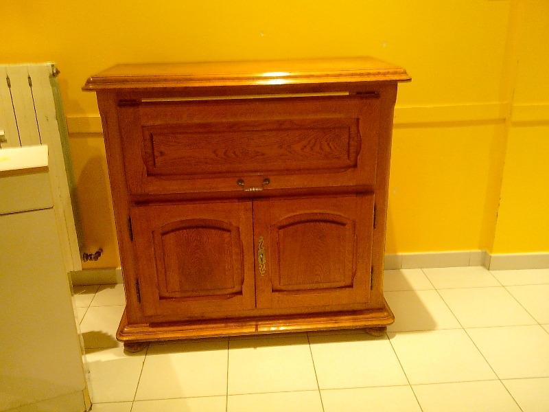 Recyclage, Récupe & Don d'objet : meuble bois brut
