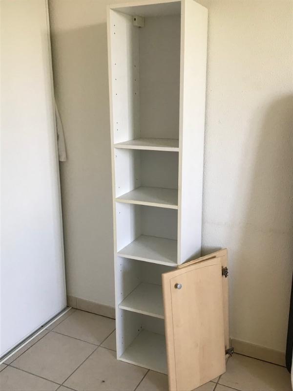 Recyclage, Récupe & Don d'objet : meuble blanc