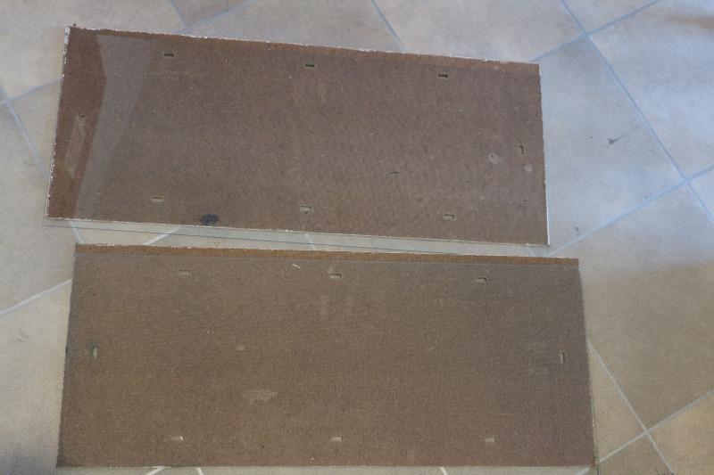 Recyclage, Récupe & Don d'objet : sous-verres ikea, 60 x 25 cm, à clips.