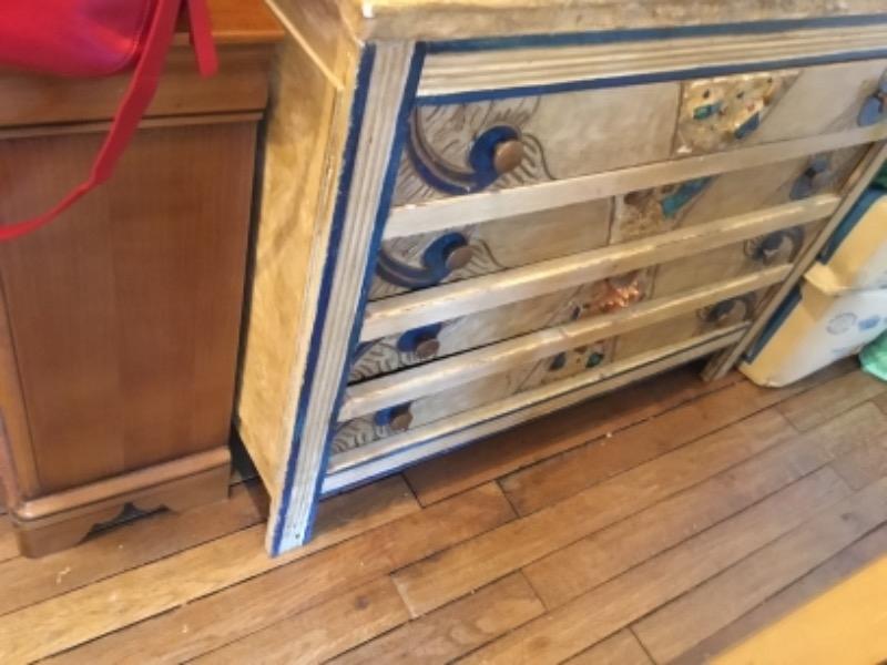 Recyclage, Récupe & Don d'objet : commode décorée