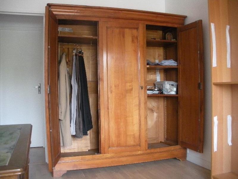 Recyclage, Récupe & Don d'objet : armoire en merisier 3 portes