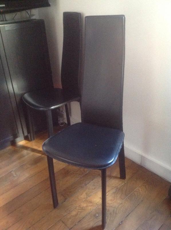 Recyclage, Récupe & Don d'objet : chaises de salle a manger