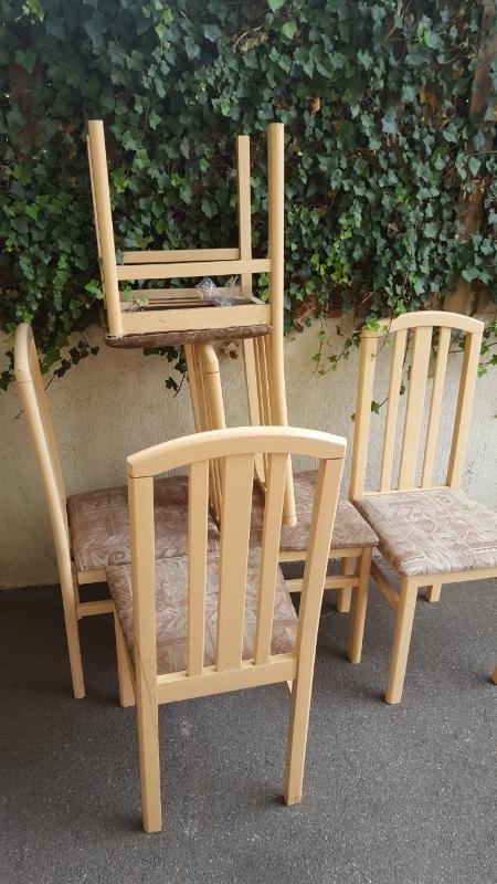 Recyclage, Récupe & Don d'objet : chaises x5