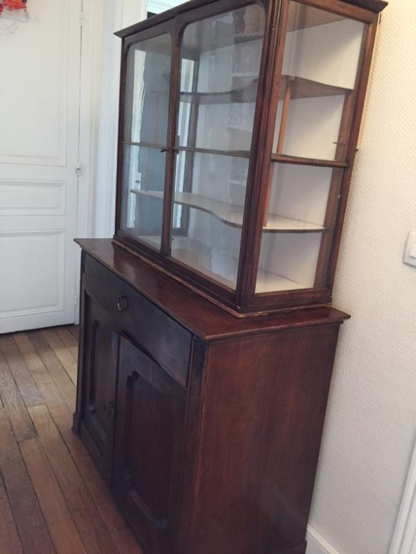 Recyclage, Récupe & Don d'objet : meuble buffet vitrine