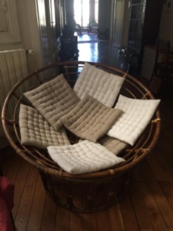 Recyclage, Récupe & Don d'objet : fauteuil rotin