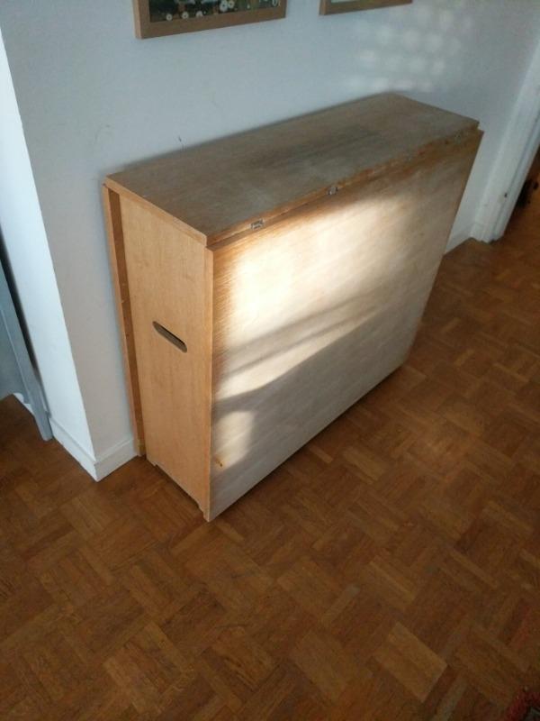 ObjetDonne En Table Recyclage Pliable BoisHabitat ObjetRécupe N0wkX8PnO