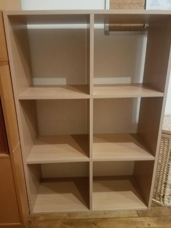 Recyclage, Récupe & Don d'objet : etagères cubes couleur chène clair