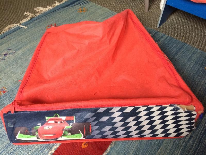 Recyclage, Récupe & Don d'objet : tiroir en tissu pour enfant