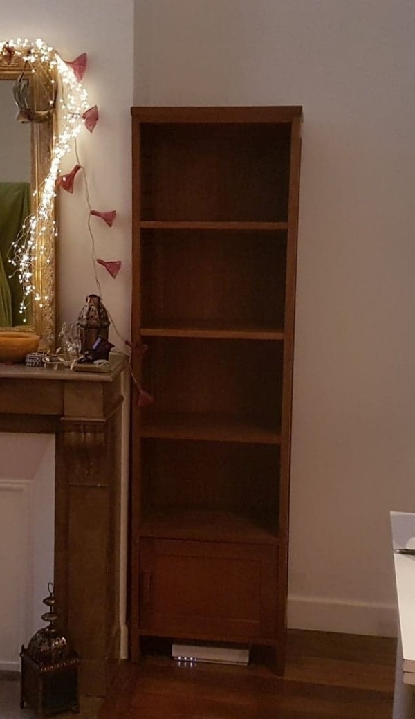 Recyclage, Récupe & Don d'objet : colonne en bois en teck -